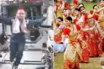 Watch: Bihu Celebrations in Space; Video of NASA Astronaut's Traditional Folk Dance Back in 2004 Goes Viral