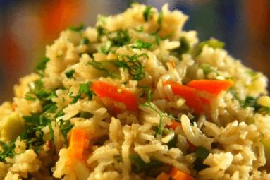 Healthy Brown Rice Pulao recipe!